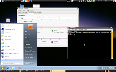 Cybernetic Musings: Windows 7 on VirtualBox with Ubuntu Karmic Koala