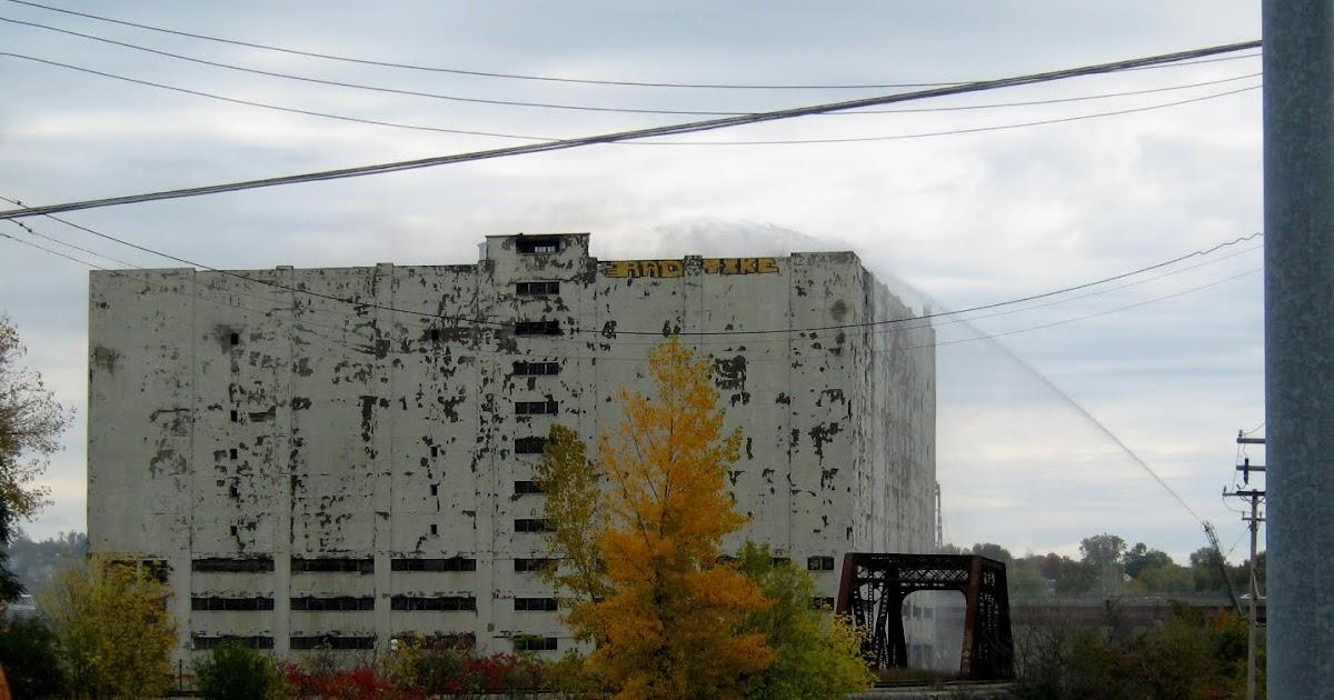 Albany (NY) History: Central Warehouse Fire
