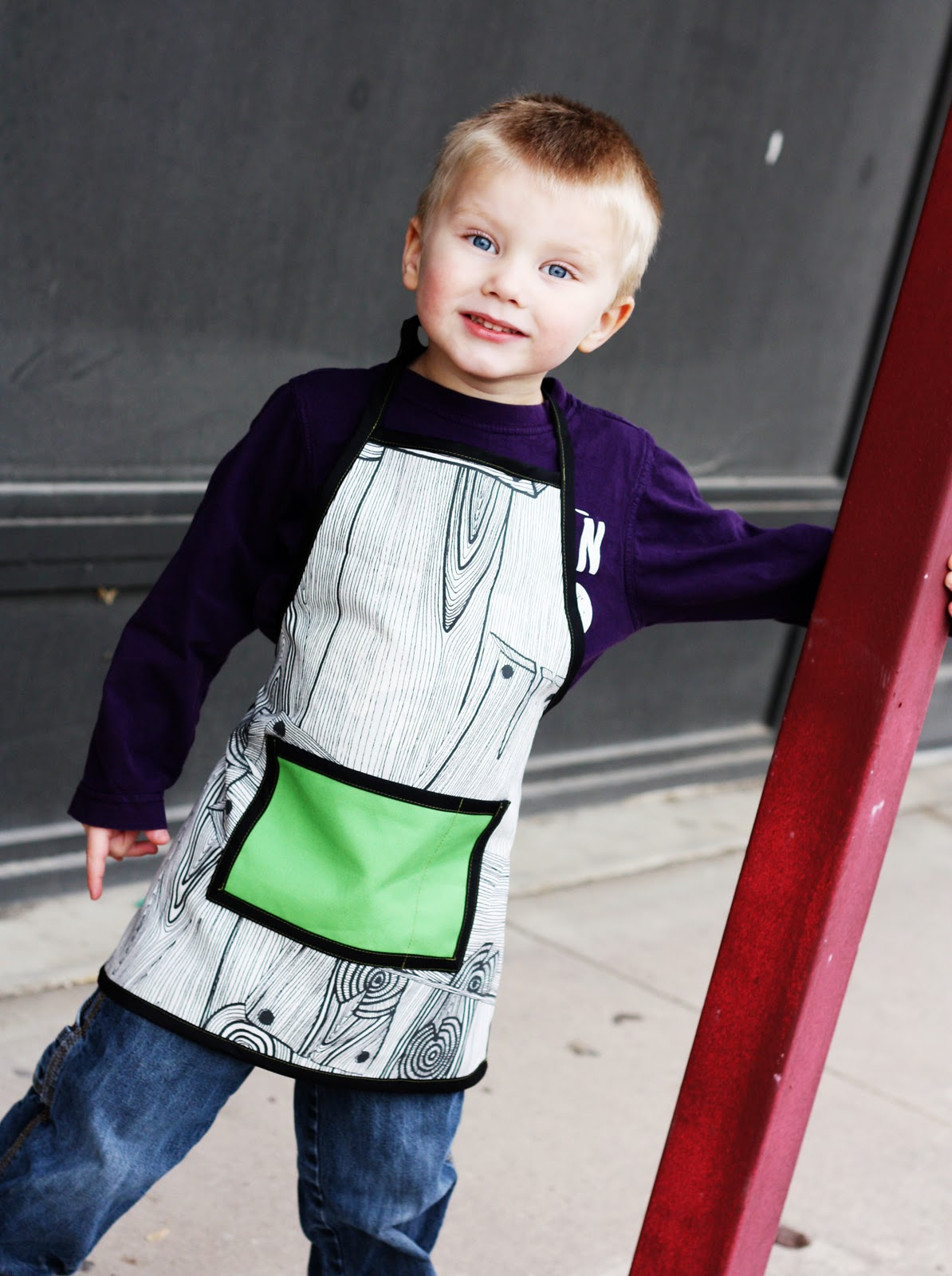 Free Childs Apron Pattern Patterns Gallery
