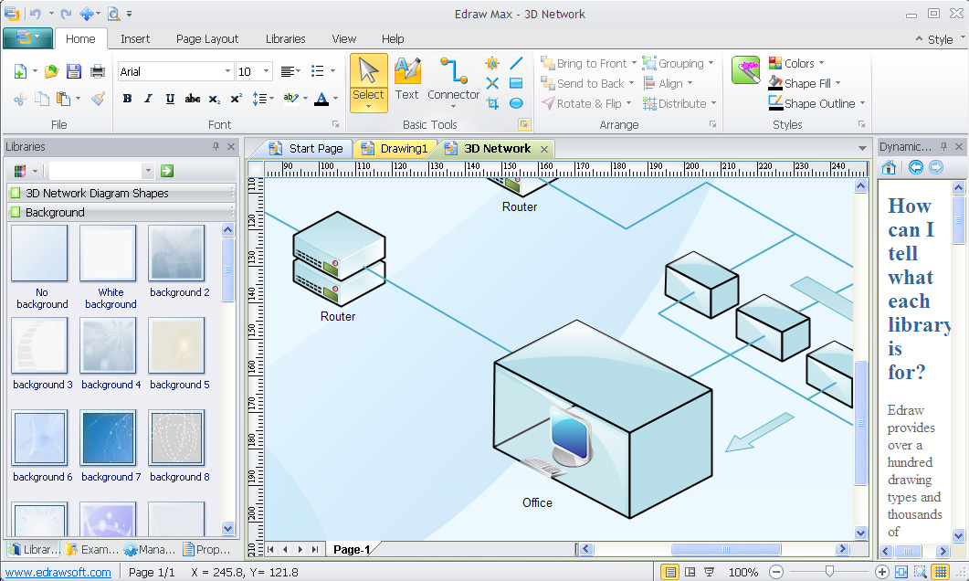 Free Download full Software: Edrawsoft Edraw Max