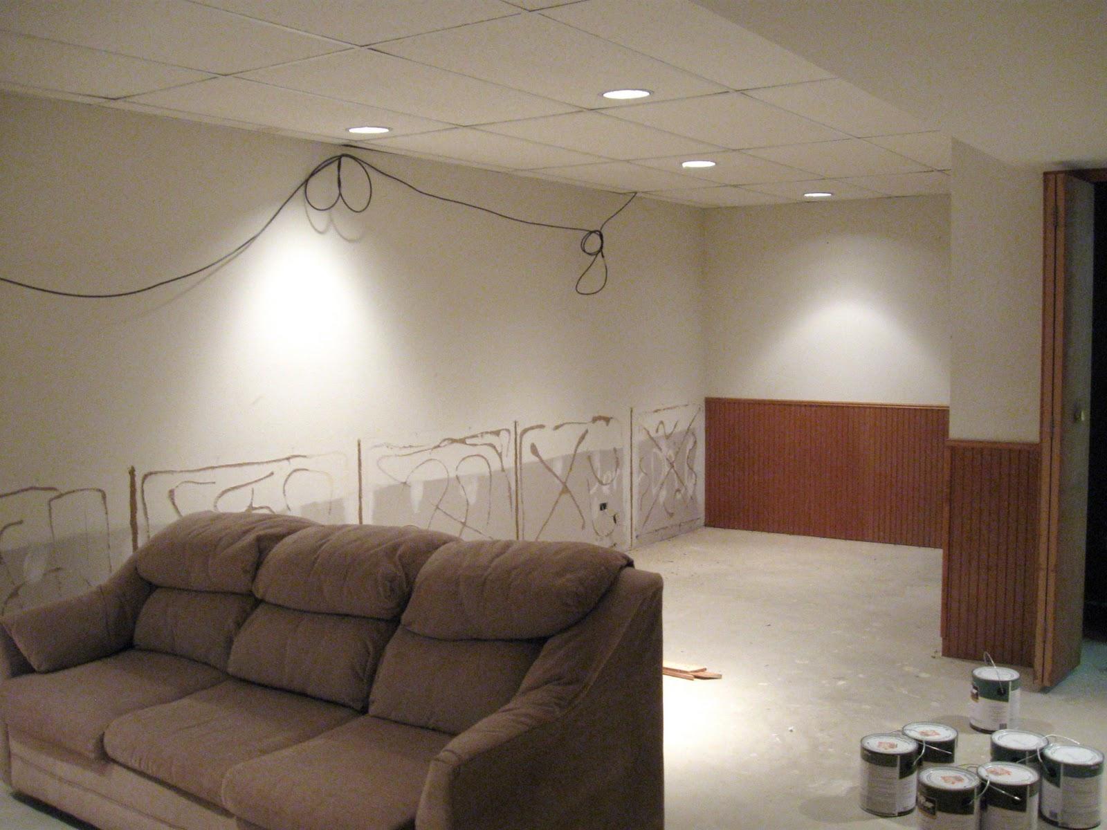 Lighting Basement Washroom Stairs: COMFY HOUSE: Basement Re-do