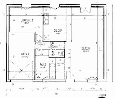 plan de maison simple gratuit. Black Bedroom Furniture Sets. Home Design Ideas