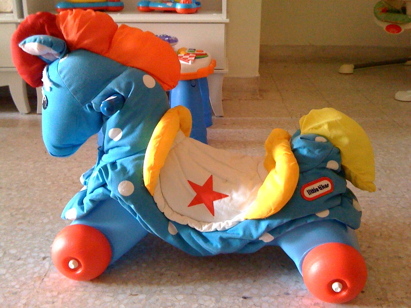 Maxi Cosi Usa >> Macam-Macam-Ada: Little Tikes Riding Blue Horse