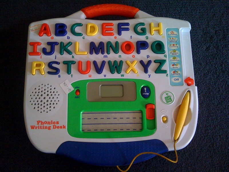 Macam-Macam-Ada: Leapfrog Phonics Writing Desk