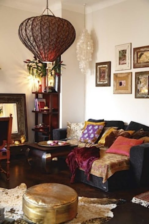 Interior Boho Design Living Room Home Decor: ZUNIGA INTERIORS: Inspired...Bohemian Chic...Bohemian Luxe