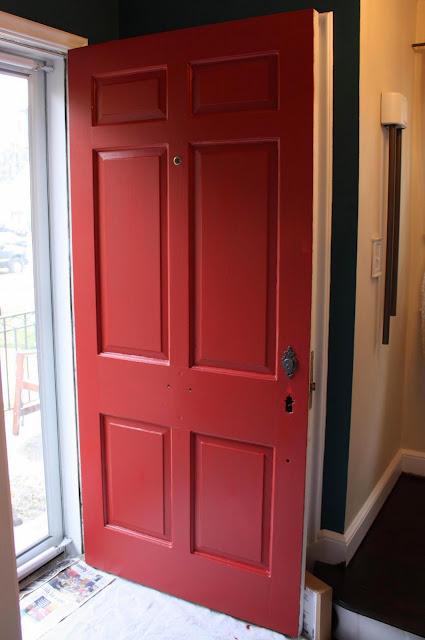 Russet Street Reno Our Front Door