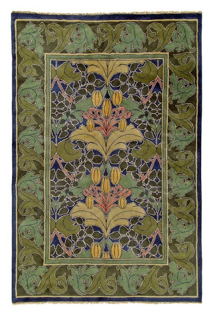 The Beautiful Rugs Of C F A Voysey