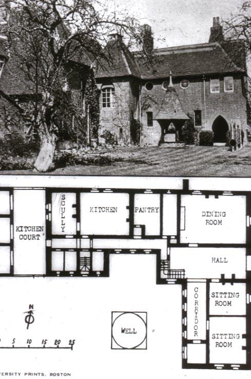 William Morris Fan Club Red House HallwaysWelcome