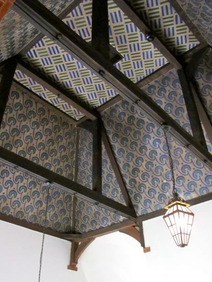 William Morris Fan Club Red House Ceilings