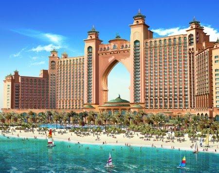 El hotel Atlantis de Dubai