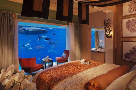 Una habitación del hotel Atlantis en Dubai