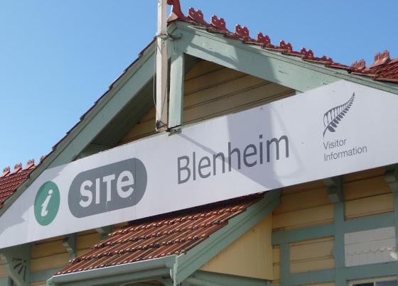 Acá el iSite de Blenheim en Nueva Zelanda