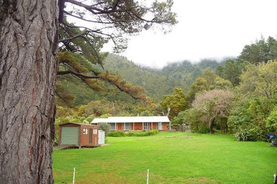 Y de lejos la casa en Picton donde nos alojamos por una semana