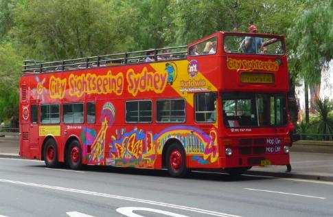 Así se ve el City Sightseeing Sydney, donde hice parte del City Tour por Sidney