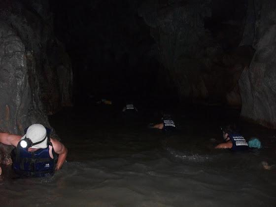 Y aquí estamos dentro de la cueva