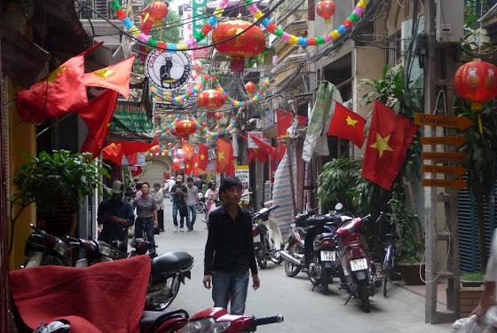 Así son las cuadras en Hanoi, capital de Vietnam