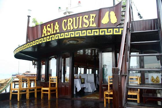 Así se ve en el Asia Cruise