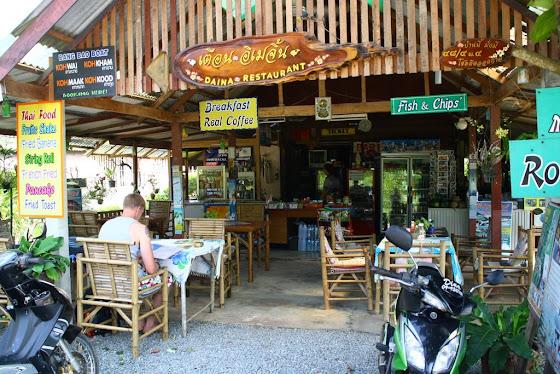 Uno de los restaurantes de comida típica en la isla