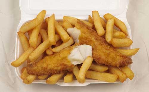 Así se ve el plato Fish & Fries de Nueva Zelanda que es como comida típica