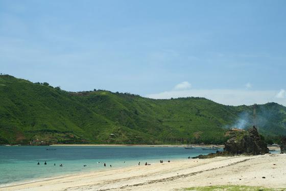 Playa en Kuta Lombok