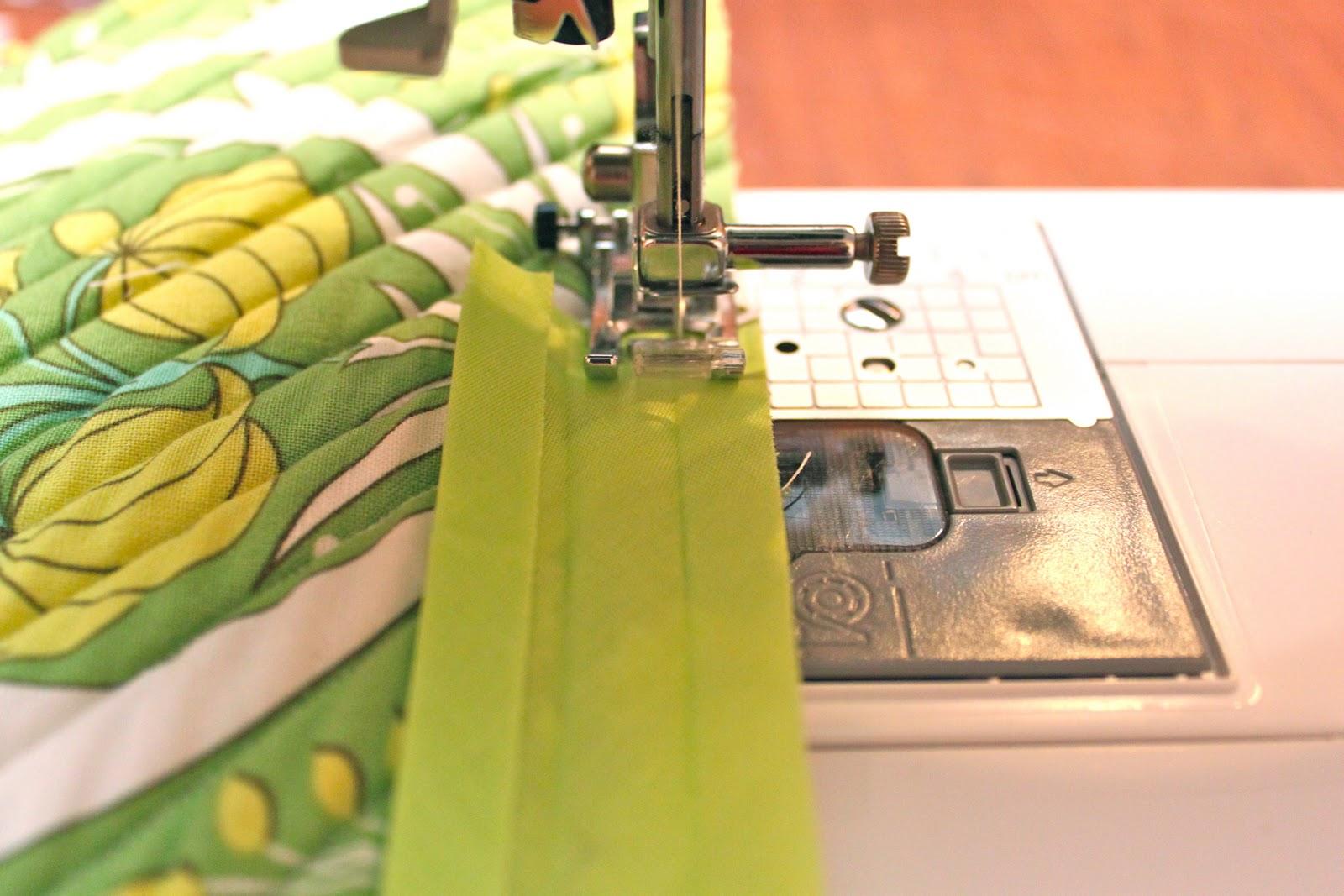Bias strips quilt