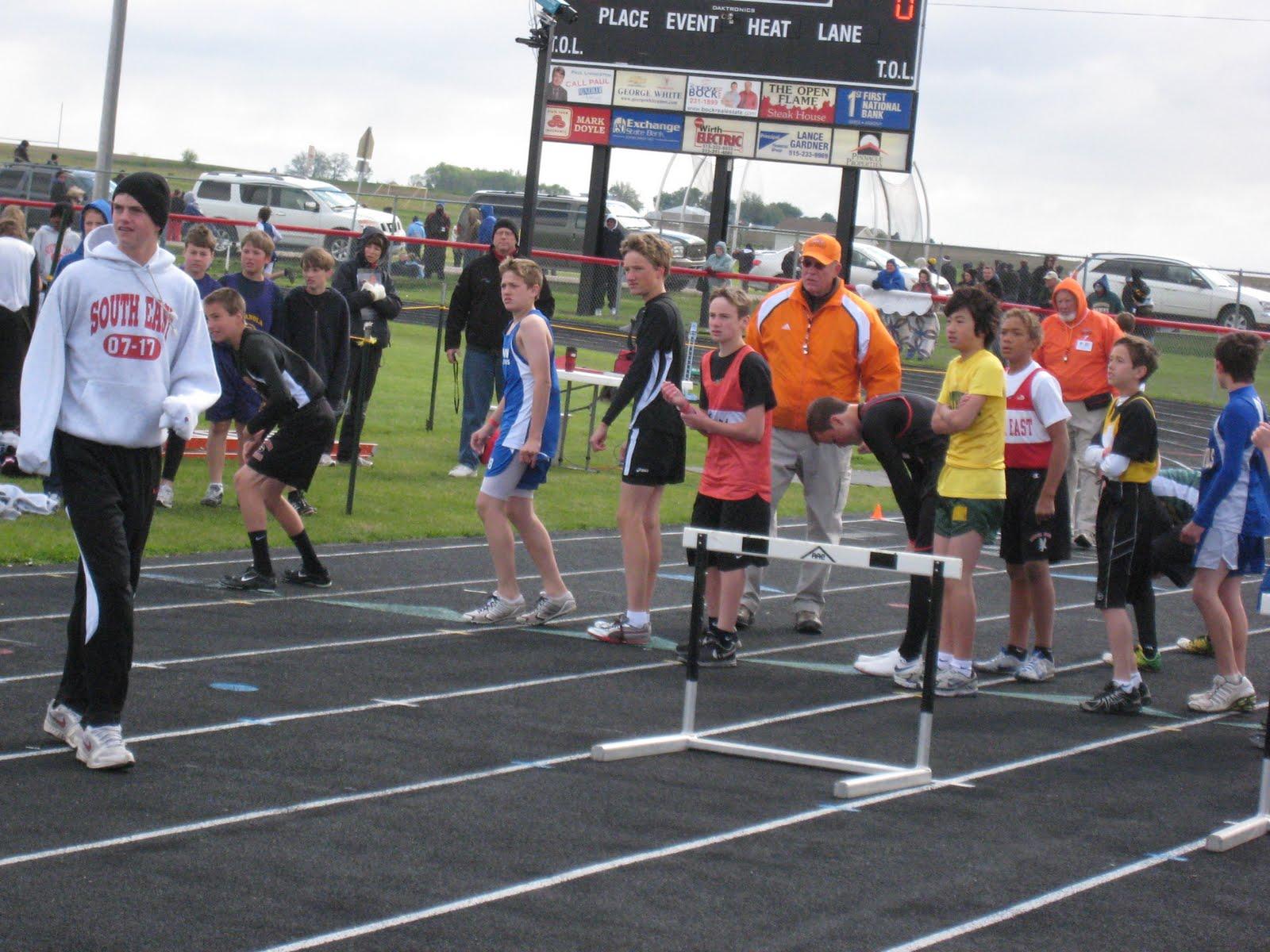 img middle school track meet