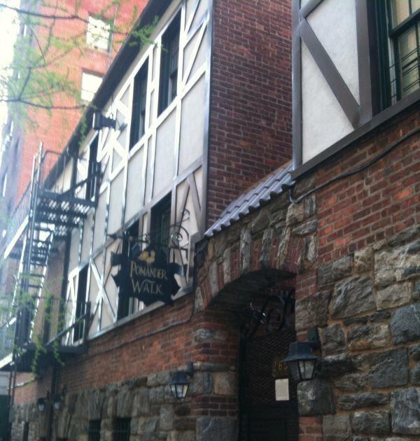English Village Apartments: Pomander Walk: An Upper West Side Secret