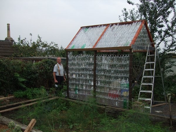 Shedworking Recycled Plastic Bottle Sheds