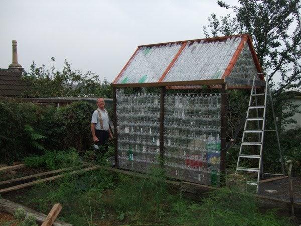 Shedworking Recycled Plastic Bottle Sheds