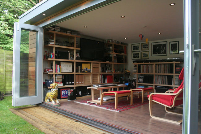 outside office shed. A Rather Nice Mix Of Business And Pleasure In This New Build From Decorated Shed South West London. It\u0027s 4.2 X 6m Garden Office Recreation Room Outside H