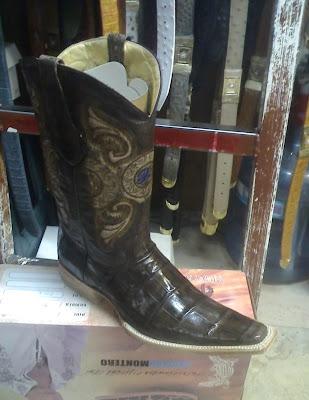 botas de cocodrilo estilo versace 31ef414a82a9f