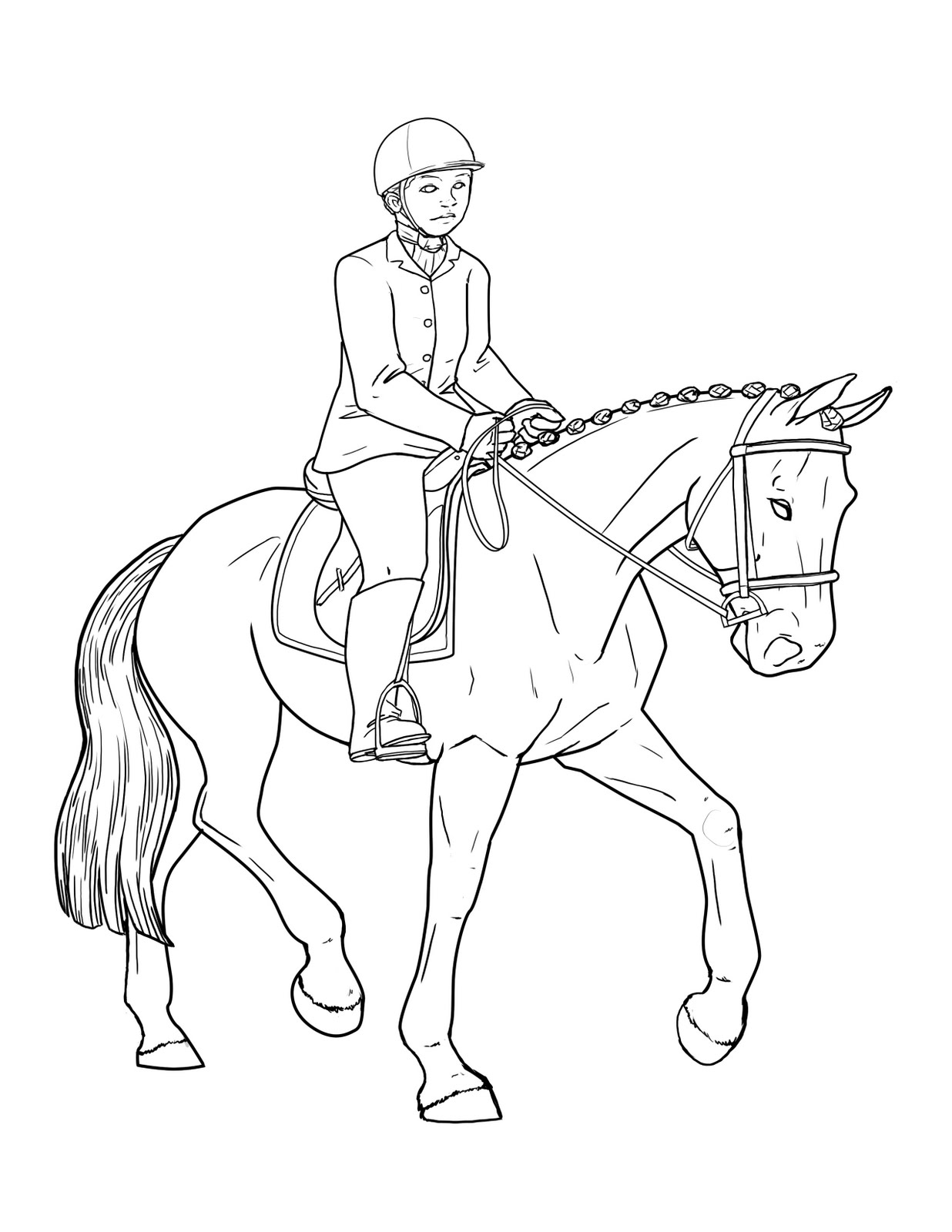 Pony Club Coloring Book | Coloring Pages