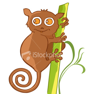 Somebody Steal my Tarsier Artwork for Shie Corporation ...