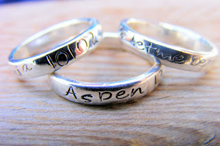custom personalized rings