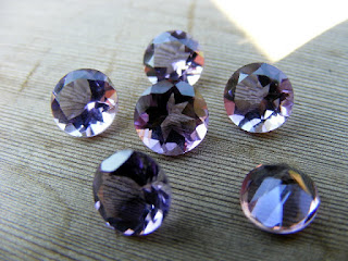 purple amethyst loose gemstones