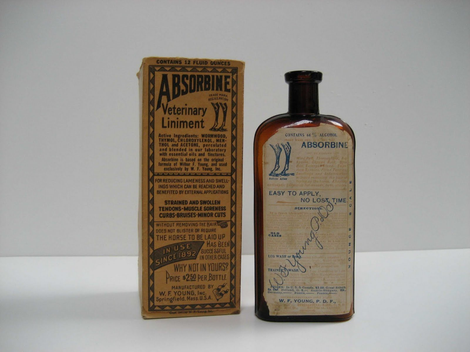 The History of Absorbine | Absorbine