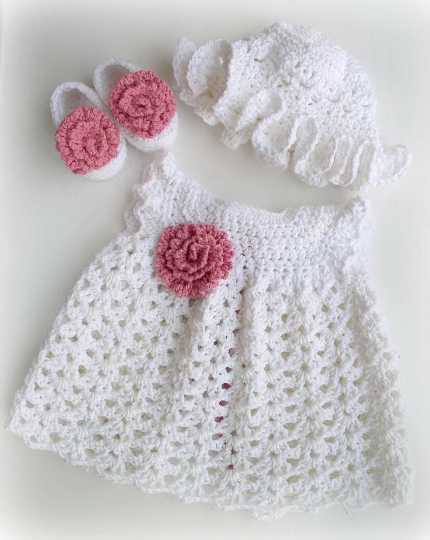 Crochet Baby Girl: Baby Dress Crochet