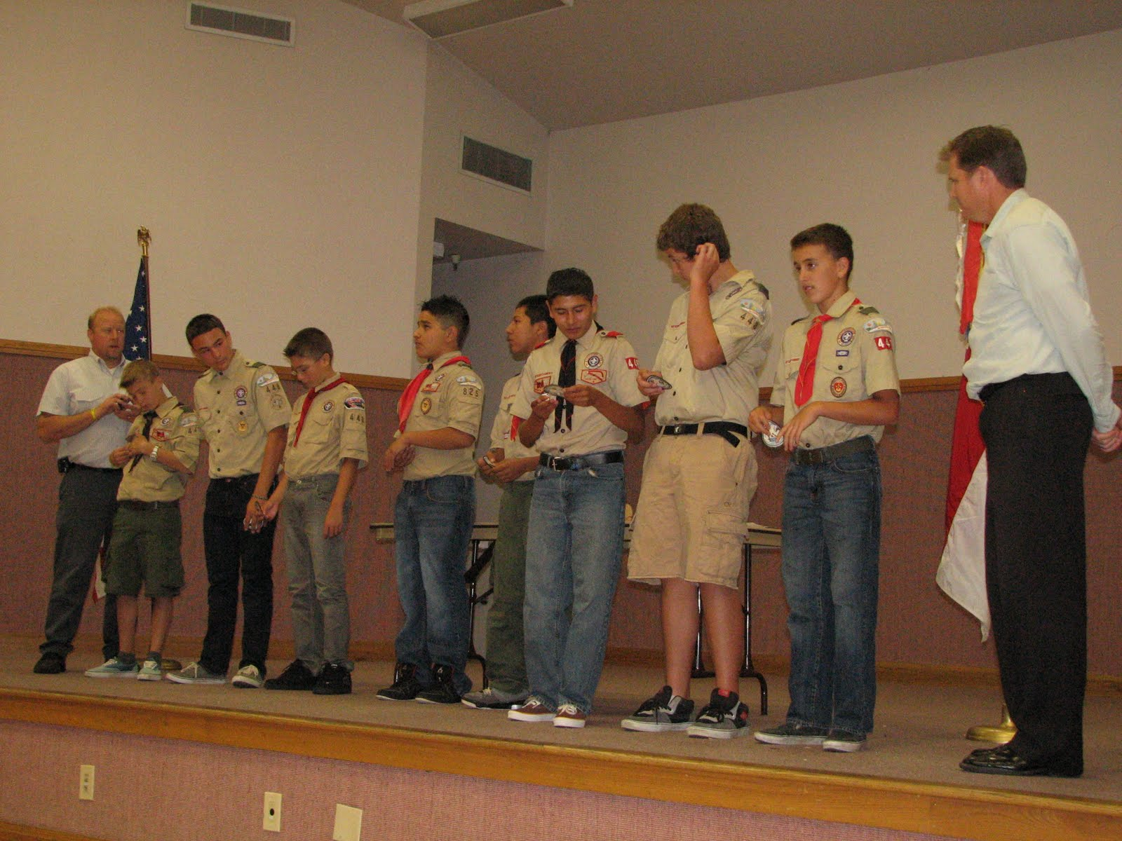 A Little Bit Of Everything Boy Scouts First Class Rank To