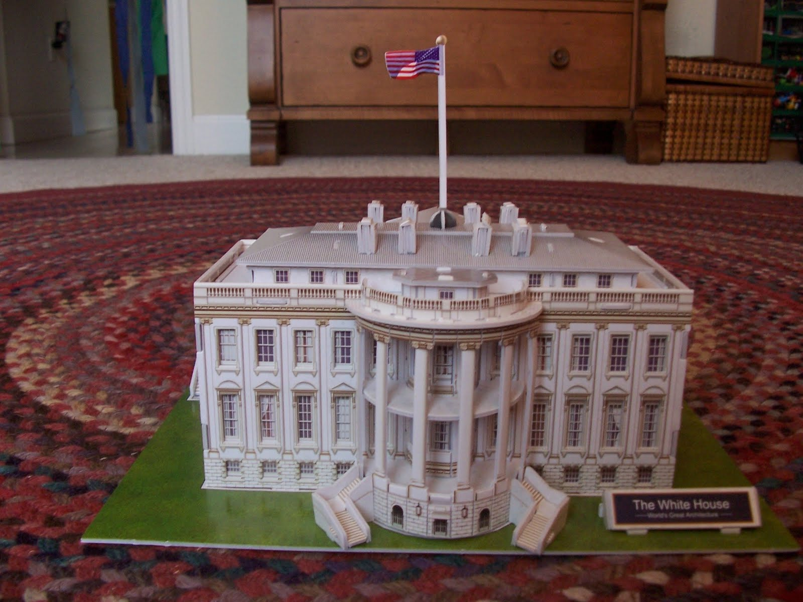 Scarter003's Technology: 3-D Puzzles: White House and U.S ...