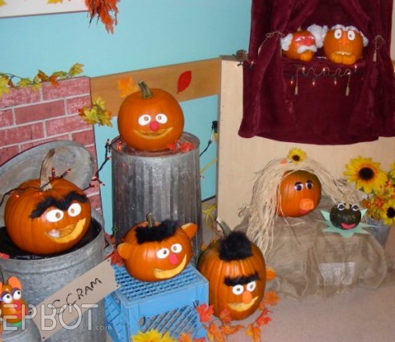 EPBOT Pumpkin Fun
