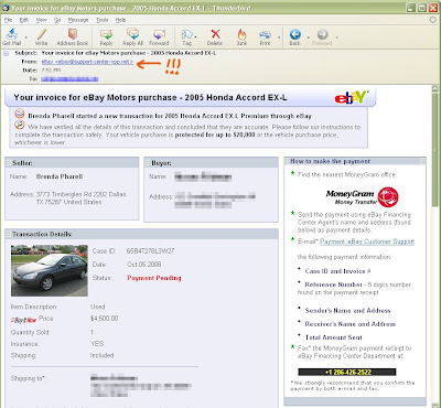 The Auto Prophet The New Ebay Motors Scam