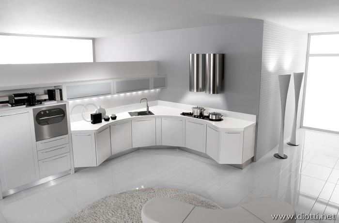 Arredamento Casa Moderna Bianca.Cucine Moderne Progettazione E Produzione Di Cucine E Arredi