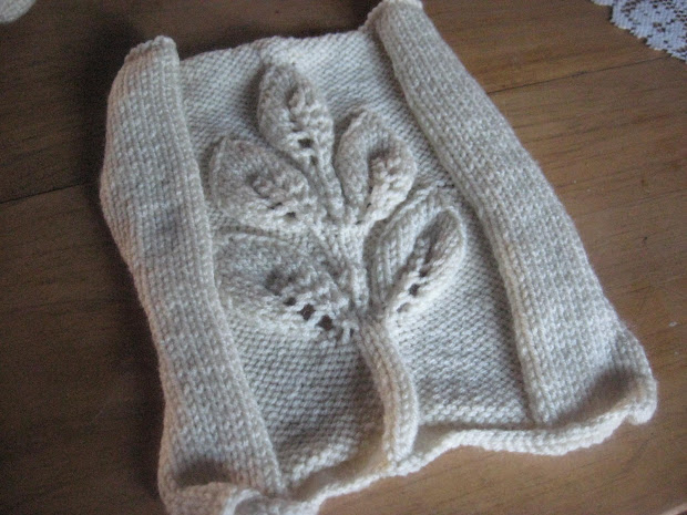 Tree Of Life Square Knitting Pattern - Year of Clean Water