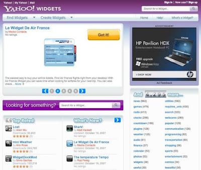 YAHOO Mail na onda da WEB 2.0