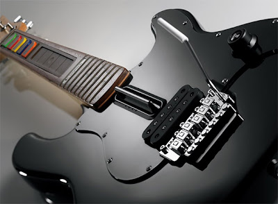 Guitarra de Verdade para o Guitar Hero? Porque não?!