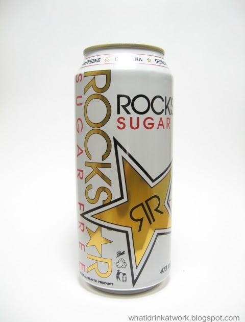 What I Drink At Work Rockstar Sugar Free Review