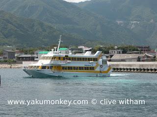 Yakushima jet foil