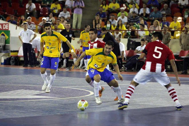Paraguay FIFA Futsal a renewed National Team scores 3 as Brazil 5 goals will  face Spain in Final