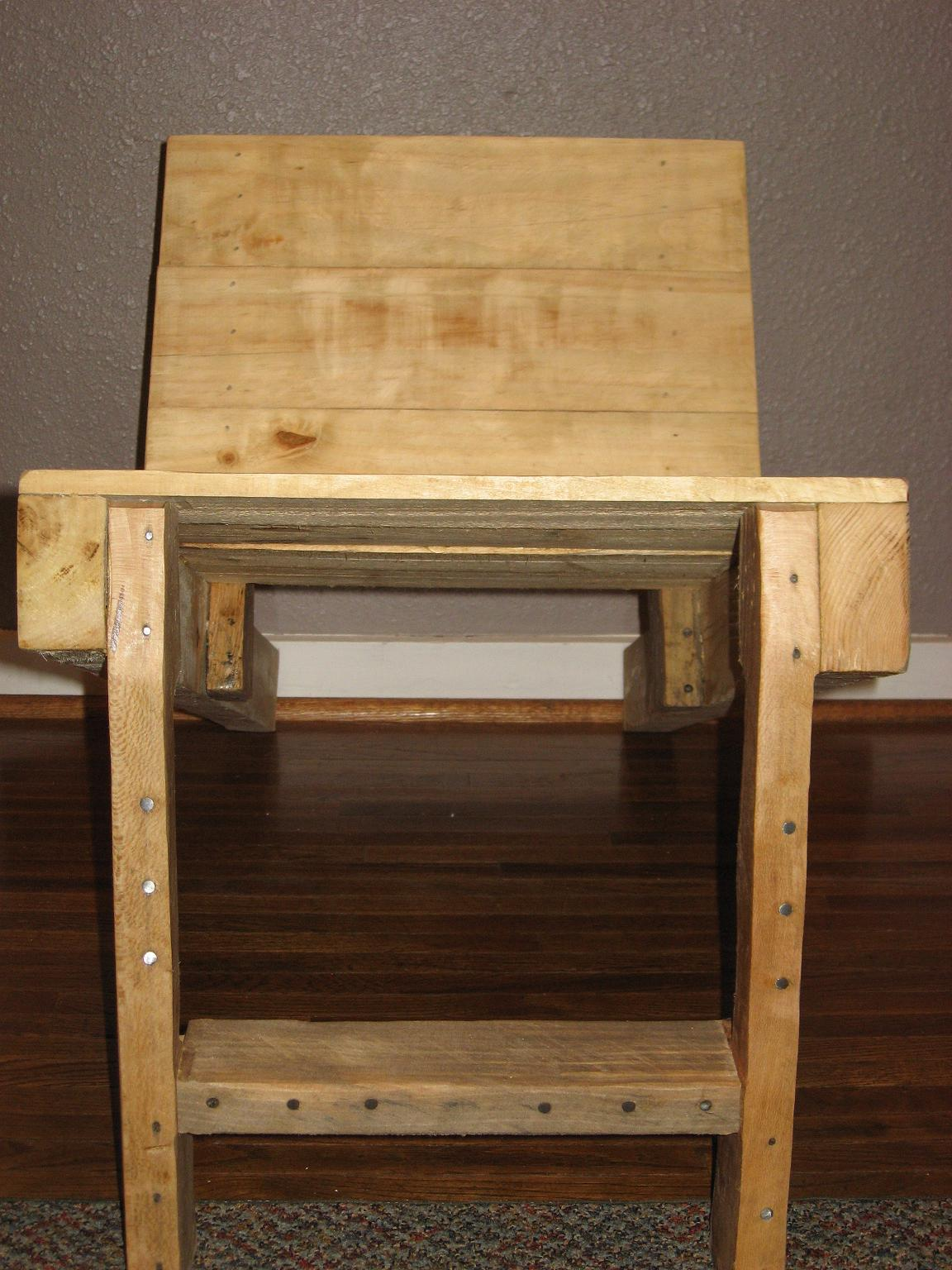 Furniture From Reclaimed Materials Repurposed Pallet Now
