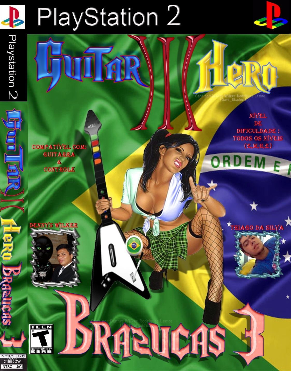 HERO PS2 BAIXAR GUITAR MUSICAS BRASILEIRAS